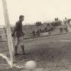 Известный вратарь и комментатор В.Маслаченко в составе ветеранов сборной СССР в Кустанае 1970 год