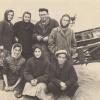 Студенты пединститута на уборке урожая. 1963 год.