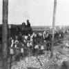 Прибытие первого поезда на станцию Джаркуль