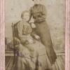 Дочь купца Павла Иосифовича Зеленского Феодосия Павловна с родственницей или подругой