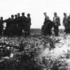 Развалины тюрьмы в Тургае , в которой сидел Амангельды Иманов до его расстрела в 1919 году.