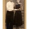 Брат и сестра Харитоненко.Кустанай. 1950-1955