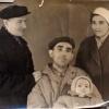 Моргуновы. Кустанай. 1947 год