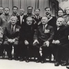 Группа, ветеранов гражданской и Отечественной войн в день 50-летия Советской Армии