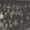 Работники фабрики Индпошив 1948 год