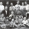 Харламов Иван Емельянович и Антонина Никифоровна с семьей