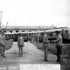 Начальник детской ж/д дороги вручает удостоверения юным железнодорожникам 1980