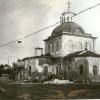 Восстановление церкви в Пресногорьковке. 1992 год