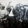 Первые кукурузоводы. 1956 год. Староверов, главный агроном Фрикель, управляющий Смоляков, бригади