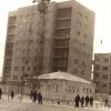 На углу Баймагамбетова и Ленина (Аль-Фараби), против драмтеатра
