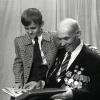 Александр Иосифович Парадович с внуком Олегом