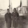 Нина Чистикова с подругой, ул.19 августа, г. Кустанай (ныне на этом месте стоят малосемейки у ДК)