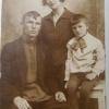 Дмитрий и Мария Раменские с сыном Валерием.1933 г.