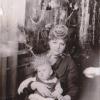 Внучка Людмила и правнучка Дарья. 1986 год