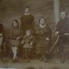 Семья Раменских и Чермениновых.1929 год.