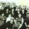 1945 год Коллектив  7-летней Боровской школы. Дундуков Иван Павлович