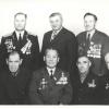 Члены городского Совета ветеранов партии, комсомола, войны и труда. Рудный