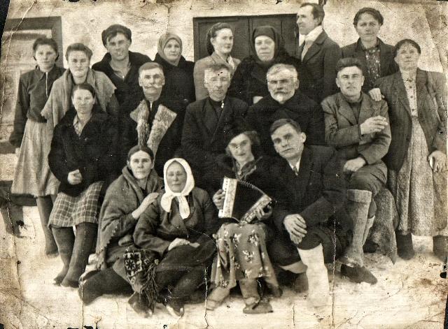 Семья Визер. 1953 год