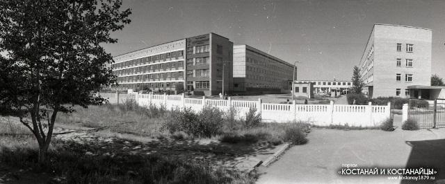 Джетыгаринская районная больница. 1985 год