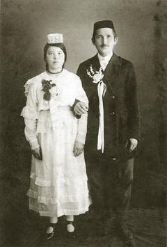 Абдулахат Кадыров с супругой