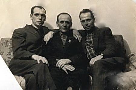 Андрей, Федор и Иван Лангольф (дети Гермины)
