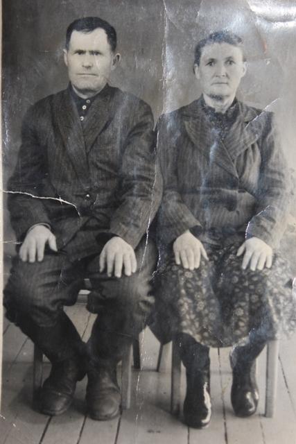 Кербер Иван Егорович с женой Анной Генриховной