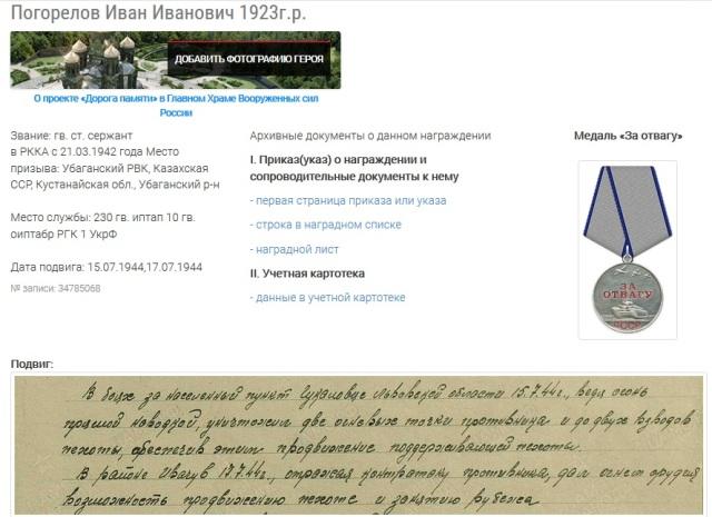 Погорелов Иван Иванович
