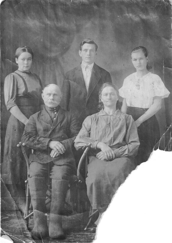 Семья Шевченко Василия Даниловича
