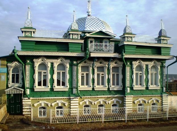 Дом челябинских братьев Шахриных. Ныне музей
