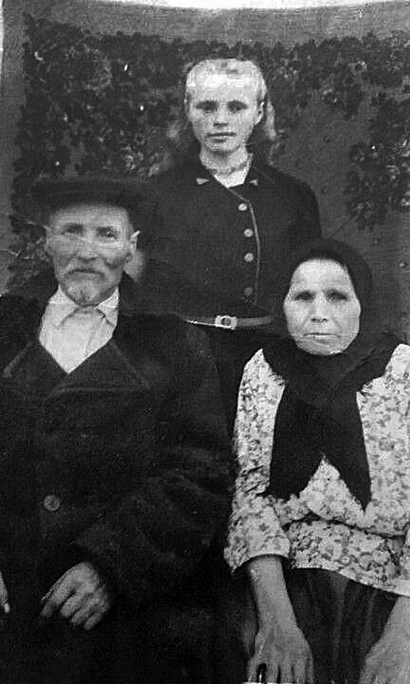 Жители Никитинки
