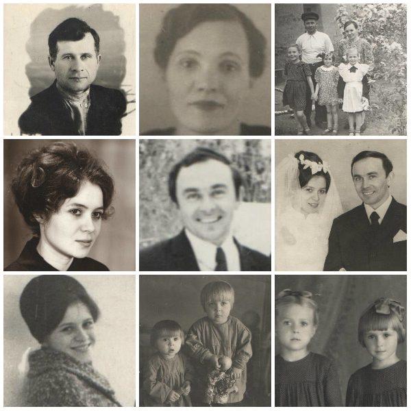 Семья Федько Арсентия Афанасьевича и Федько (Жуковой) Елены Михайловны