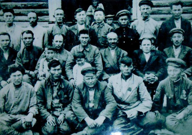 Работники Диевского мясосовхоза. 1944 год
