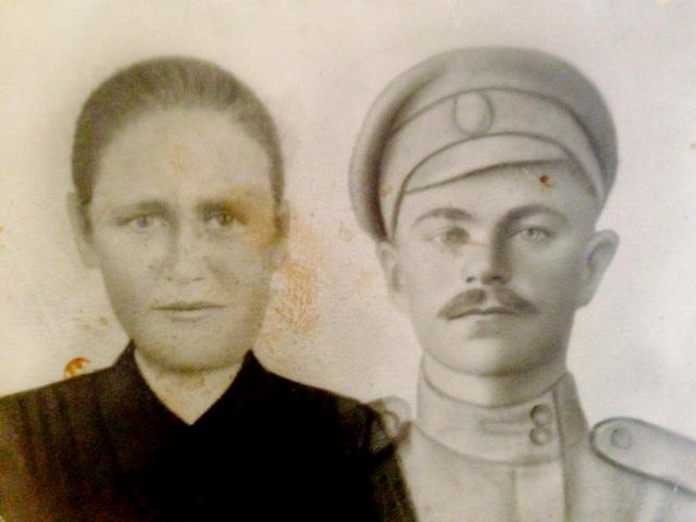 Лихограй Лука Ильич с женой Ириной Федоровной