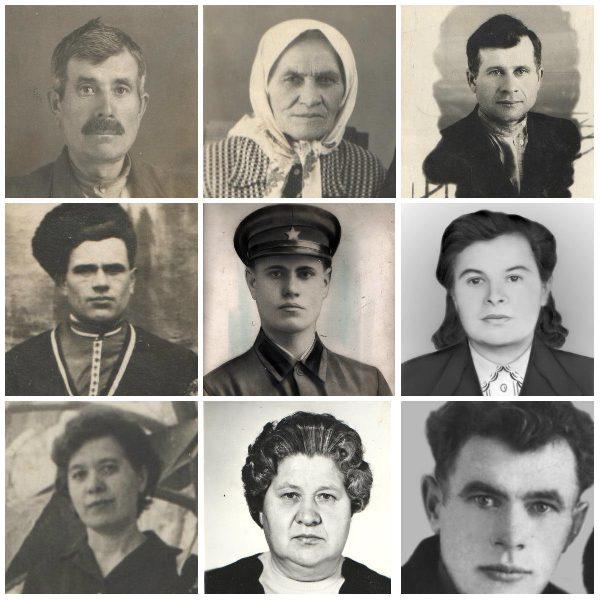 Семья Федько Афанасия Ивановича и Марии Федоровны