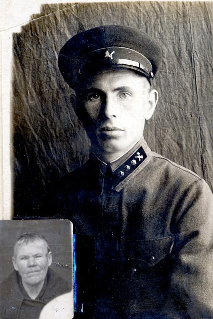 Черноротов Илларион Зотович. В уголке Елизавета Захаровна
