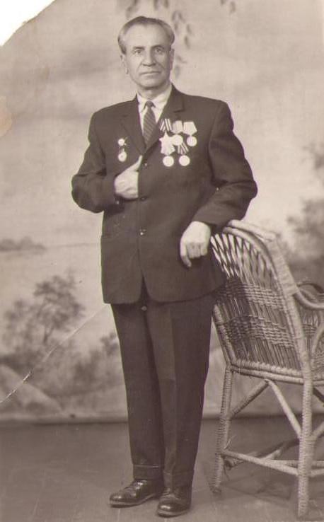 Ковалев Николай Васильевич. 1965 год. 20 лет Победы
