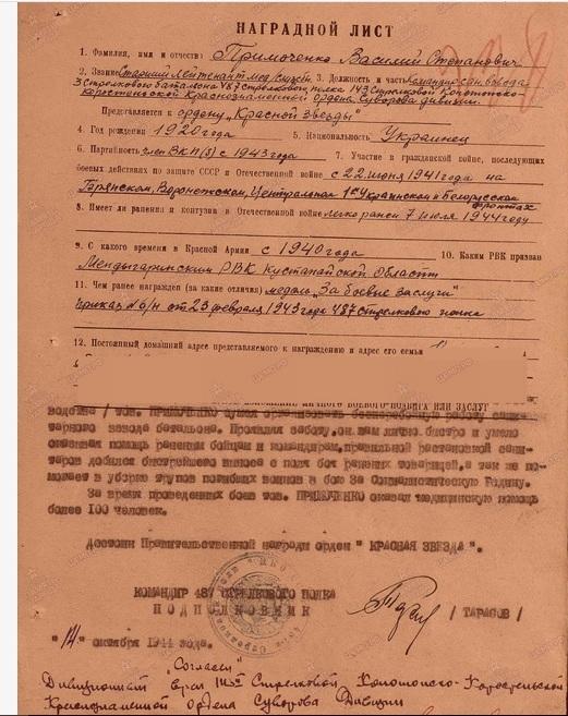 Примаченко Василий Степанович