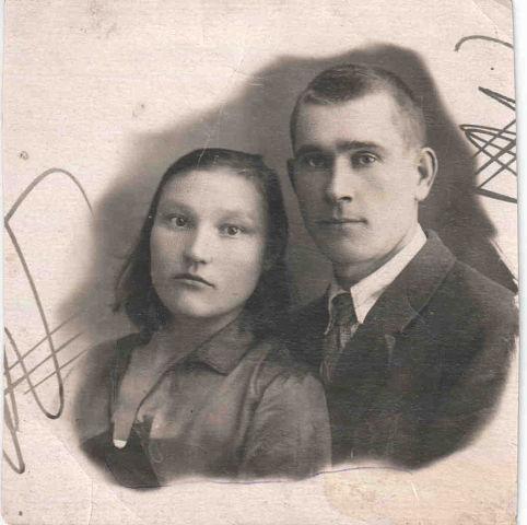 Авдюшенко Иван Алексеевич с женой Аграфеной