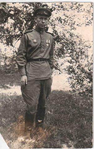 Авдюшенко Владимир Алексеевич. 1946 год. Дрезден