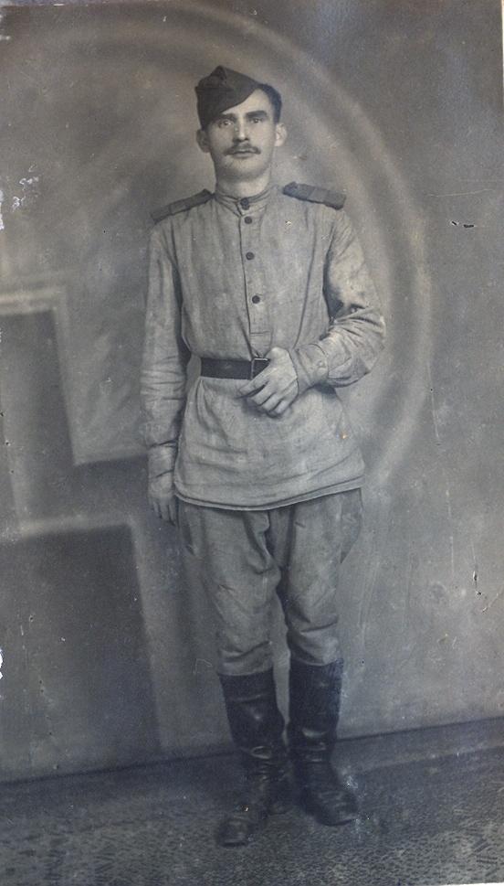 Старший сержант Визер Алексей, 1945 год, сентябрь, Ченстохов, Польша