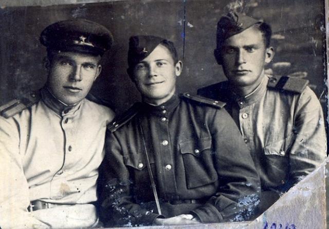 Старший сержант Визер Алексей, 1945 год,    Ченстохов, Польша