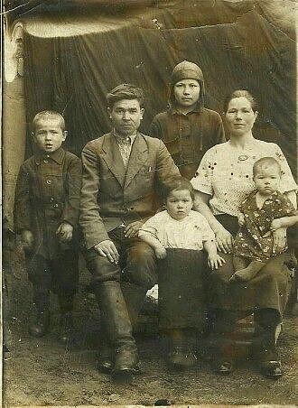 Филатов Андрей Алексеевич с семьей