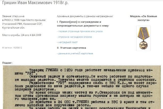 Гришин Иван Максимович
