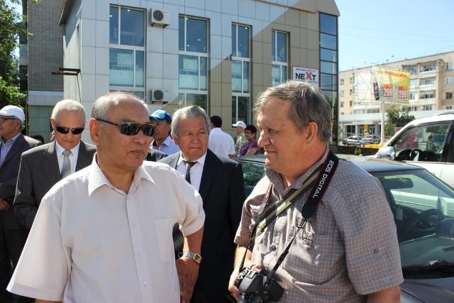 Сагымбай Козыбаев и Владимир Моторико