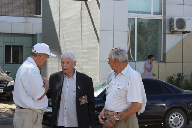 Открытие мемориальной доски Оразалы Козыбаеву
