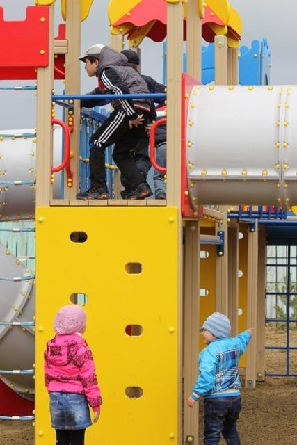 Открытие детской площадки памяти А.А. Филатова