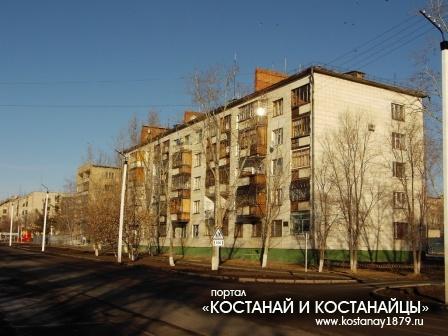 Дом по улице Павлова, угол улицы Баймагамбетова