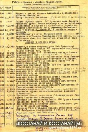 Личное дело Л.А.Козуненко 2