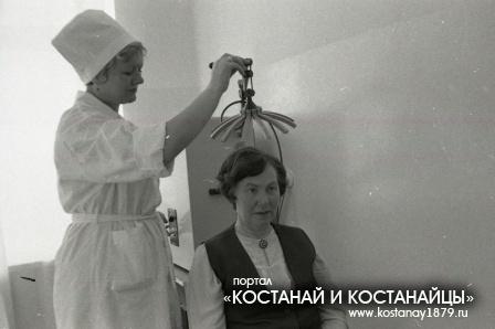 Санаторий-профилакторий Березка в совхозе имени Темирязева