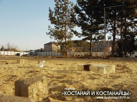 Великая стройка (место бывшего кинотеатра)